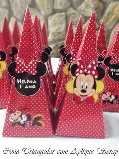 Kit Festa Minnie Mouse
