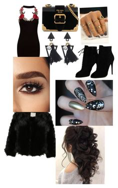 """""""Untitled #8"""" by stefania-serban on Polyvore featuring Sans Souci, Tom Ford and Prada"""