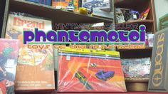 #walkwithme The Yellow Brick Road? In a Yellow Submarine? The Matrix? Yup, It's all HERE at Phantomotoi Booth of Collector Awesome inside Fox Lake Country Antique Mall, Oconomowoc, Wisconsin!