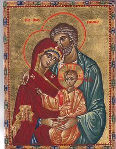 Holy family by MARIA MANUELA GUERREIRO