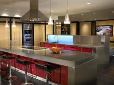 45 best kitchen bar ideas images on Pinterest | Contemporary unit ...