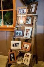 Koutek jako vzpomínka na všechny svatbě v obou rodinách :)