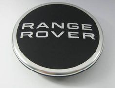 Range Rover Center Cap - Black l Required for all accessory alloy wheel rims - must be ordered separately.