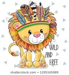 Illustration about Cute Cartoon tribal Lion with feathers on a white background…. Illustration about Cute Cartoon tribal Lion with feathers on a white background. Illustration of funny, indian, hippie – 129078965 Cartoon Cartoon, Cute Cartoon Girl, Cute Cartoon Animals, Lion Cartoon Drawing, Drawing Lips, Animal Drawings, Cute Drawings, Drawing Animals, Cartoon Mignon