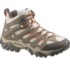 Ladies' Hiking Boots – Order the Women's Moab Mid Waterproof Boot from Merrell - J88792