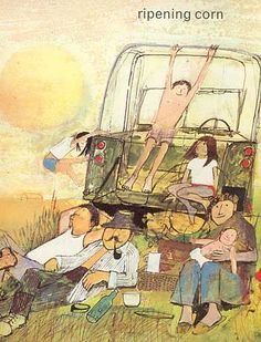 John Burningham is one of my very favourite children's illustrators. He was one of my children's favourite storytellers when they were sma...