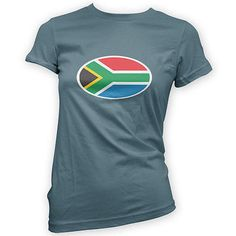South #african flag #womens t-shirt -x14 #colours- football rugby cricket sport,  View more on the LINK: 	http://www.zeppy.io/product/gb/2/131861744240/