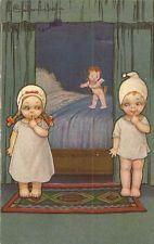 CARTE POSTALE FANTAISIE ITALIE ILLUSTRATEUR COLOMBO PETIT ANGE ENFANT 1960-1