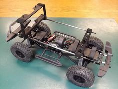 Hello Folks! I designed this body truss to reinforce and properly support the Axial Jeep FC body and keep it from flexing (especially during rollover). This truss also hides the body supports behind the cab pillars for that ultimate scale look! | eBay!