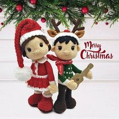 Wish you all a Merry Christmas and an amazing New Year. ❤ #amigurumi #crochet #Christmas #Holidays #makeamiguruminotwar #twistedfibers #talesoftwistedfibers