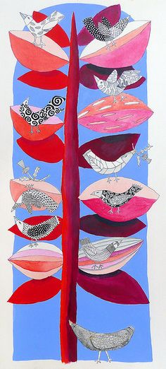 BrightBirds by cate edwards, via Flickr