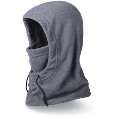The DAKINE Hunter balaclava mirrors a jacket hood. It can be worn over goggles or a beanie, and the double-layer midweight fleece makes it warmer and bulkier than the Convertible Balaclava. Available at REI, Satisfaction Guaranteed. D Gray Man Anime, Mouth Mask Fashion, Balaclava, Mode Hijab, Diy Face Mask, Diy Mask, Neck Warmer, Mask Design, Sewing Clothes