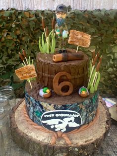Duck Dynasty Cake-I did not make this one it is inspiration for one I will make