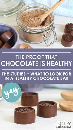 Guess what? A number of studies show that chocolate is healthy! Learn more about the health benefits of chocolate, what to look for in a healthy chocolate bar, and some delicious and nutritious healthy treat recipes that call for antioxidant-rich raw cacao.