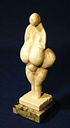 This is a Babylonian Fertility goddess: