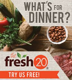 The Fresh 20 — Budget Friendly Meal Plans for Busy Families