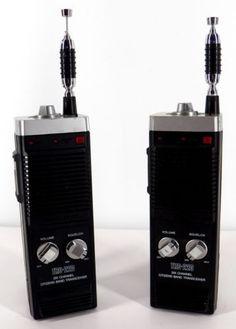 vintage cb walkie talkies c b scanners plus pinterest. Black Bedroom Furniture Sets. Home Design Ideas