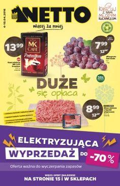 Gazetka Netto - Duże się opłaca, 4-10/04