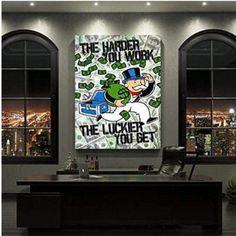 Framed Wall Art, Canvas Wall Art, Wall Art Prints, Canvas Prints, Disney Pop Art, Motivation Goals, Inspirational Wall Art, Office Decor, Wall Decor