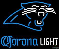 Corona Light Carolina Panthers Neon Sign NFL Teams Neon Light