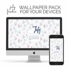 Download the July wallpaper freebies by signing up for our newsletter below– I've includeda pretty leaf print for your desktop & phone. We also have matching July stickers & our America the Beautiful collection in the shop. Email Address First Name Happy July!