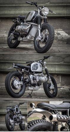 Down & Out BMW Scrambler :: via The Bike Shed