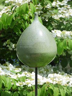 Keramik-Zwiebel laubgrün - Gärten für Auge & Seele