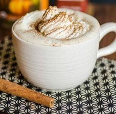 Make your own Pumpkin Spice Latte with this recipe.