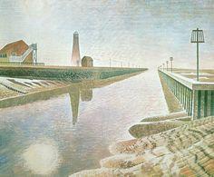Eric Ravilious - Rye Harbour