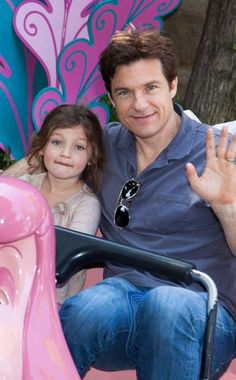 Jason Bateman and daughter