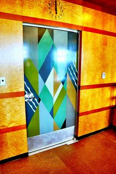 Art Deco door...