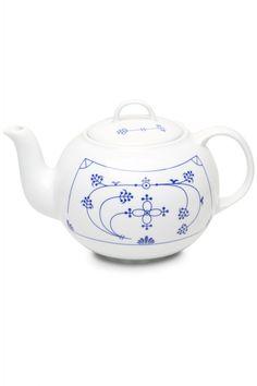 Indisch Blau, Teekanne, 1l