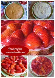 Hello, my dear readers! I hope you've had a great weekend. Let me start this week with this delicious strawberry tart, which I've made last Monday on my husbands birthday! It&#82…