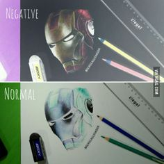 Just try negative drawing