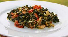 WORLD RECIPES JAMAICA: Jamaican Callaloo and Saltfish Recipe