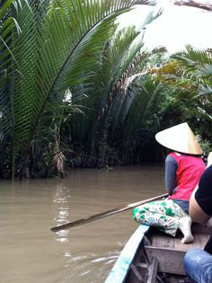travelling down the river! (ho chi minh, vietnam, southeast asia)