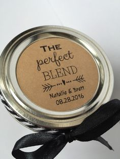 Perfect Blend perfect blend sticker coffee favor by NMTMdesigns