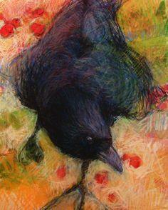 Choose a BIRD drawing Art PRINT   by Tonja Sell by TonjaSell