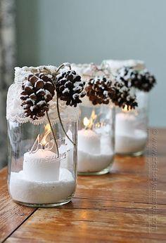 Mason Jar Christmas Crafts - Christmas Crafts - Country Living