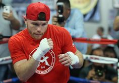CANELO ALVAREZ SAN DIEGO MEDIA WORKOUT QUOTES, PHOTOS AND VIDEOS CANELO WILL FIGHT LIAM SMITH FOR THE WBO JUNIOR MIDDLEWEIGHT WORLD CHAMPIONSHIP ON SATURDAY, SEPTEMBER 17 PRESENTED LIVE BY HBO PAY-…