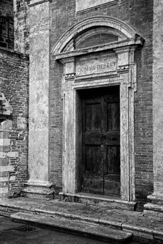 ancient door in Perugia, Italy ~ by Pascal Pro