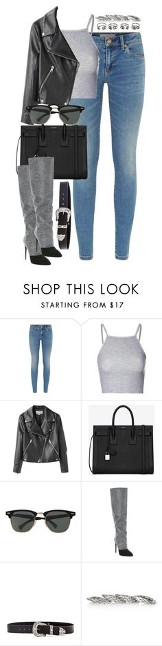 """Untitled #1018"" by queen-eleanor-calder ❤ liked on Polyvore featuring Burberry, Glamorous, Acne Studios, Yves Saint Laurent, Ray-Ban, Giuseppe Zanotti, B-Low the Belt, Bottega Veneta and Maison Margiela"