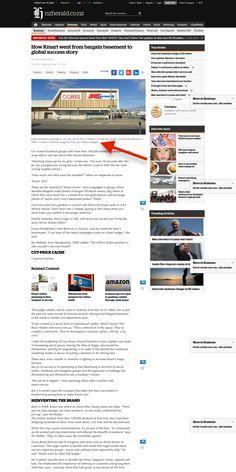 NZ Herald - How Kmart went from bargain basement to global success story Success Story, Basement, Root Cellar, Basements