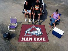 "NHL - Colorado Avalanche Man Cave Tailgater 59.5""""x71"""""