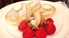 冬季限定!ニューオータニ特製スーパーあまおうパンケーキ