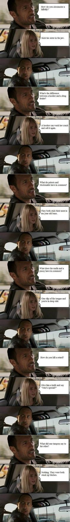 The Rock - Dirty Jokes - Funny Pictures - Funny Photos - Funny Images - Funny Pics Dirty Jokes Funny, Funny Jokes For Adults, Funny Texts, Funny Stuff, Rude Jokes, Inappropriate Jokes, Funny Humor, Hilarious Jokes, Random Humor
