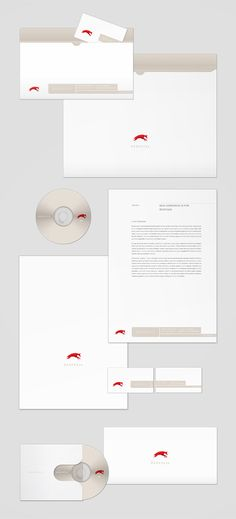Corporate design for 'Redfox 24' by Karol Mizdrak