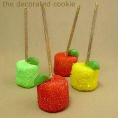 Fazendo a Minha Festa Infantil: Frutas de Marshmallow!
