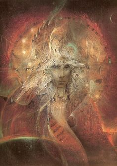 Animal Spirit Wisdom...By Artist Susan Seddon Boulet...
