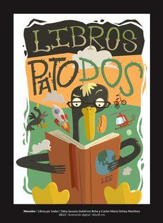 ( ♪ ) ✿ Sintonía literaria ✿ { ♫ }: Carteles de animación a la lectura (II)